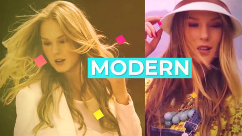 Colorful Fashion Slideshow Premiere Pro Template