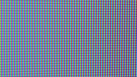 TV or computer screen in extreme closeup Image
