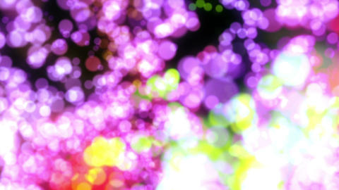 Shiny Cgi Colored Big Particles Explosion Flying Abstract Background Animation