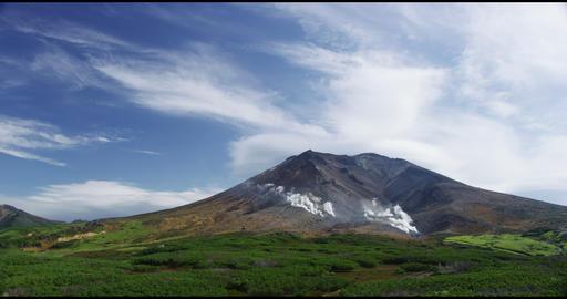 4K Hokkaido Asahi Mountains 北海道大雪山 旭岳 ビデオ