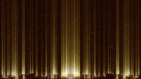 Animated Glitter Flares Golden Flicker Background Gorgeous Particles Animation