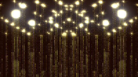 Gorgeous Flares Particles Animated Flicker Wall Glitter Background Animation