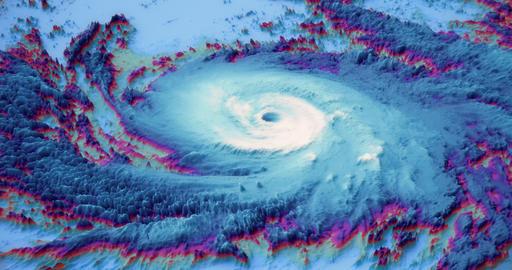 Bomb cyclone animation ビデオ
