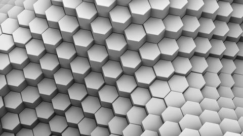 Hexagons Formed A Wave Image