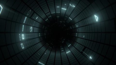 VJ Loop Blinking Tunnel Animation