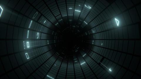 VJ Loop Blinking Tunnel Animación