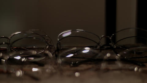 Glasses in retail store, Live Action