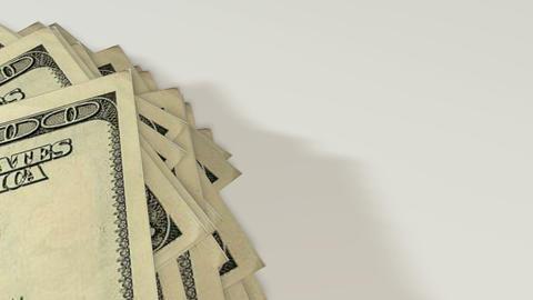 Dollar bills, money background Footage