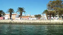 Travelling by Boat in Lagos City Of Portugal Image