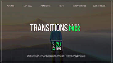 Transitions Pack V.1 Premiere Pro Template