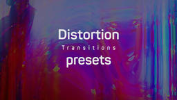 Distortion Transitions Presets เทมเพลต Premiere Pro