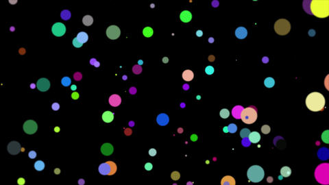 Abstract background with beautiful/colorful sphere smooth animation Animation