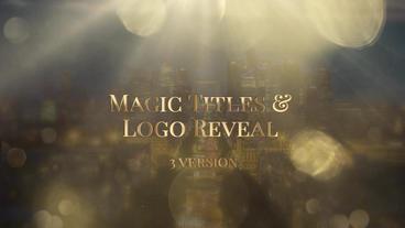 Magic Logo Reveal Premiere Proテンプレート