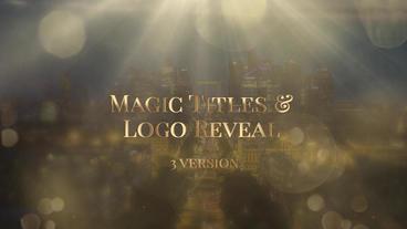 Magic Logo Reveal Premiere Pro Template