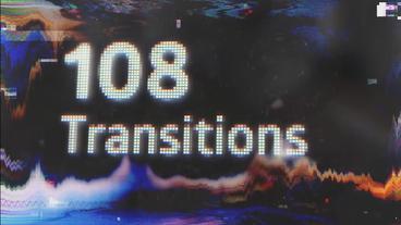 108 Transitions Premiere Pro Template