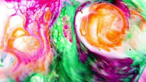 Abstract Art Ink Paint Blast Explode Turbulence Live Action