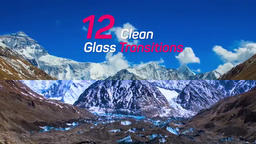Clean Glass Transitions Premiere Pro Template