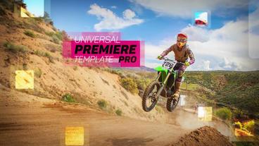 Universal Slideshow Premiere Pro Template