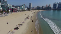 98 early spring of gwangalli, busan, South Korea, Asia 01 Footage