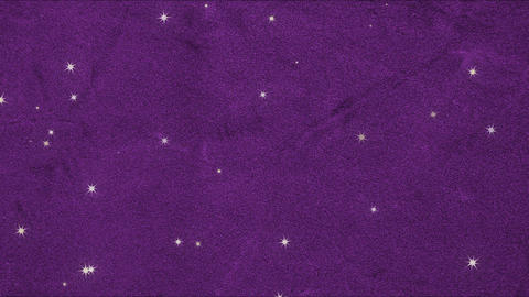 Purple velvet and many stars (loopable) Animation
