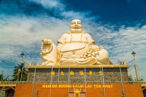 Giant White Buddha Fotografía