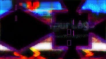 Glitch Logo Reveal Premiere Pro Template