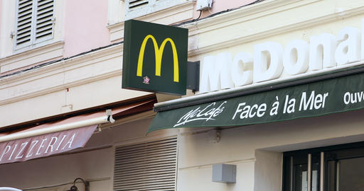 McDonald Sign in France Image