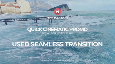 Premier Quick Cinematic Promo Premiere Pro Template