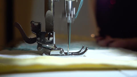 Embroidery Sewing Machine Video With A Sound GIF