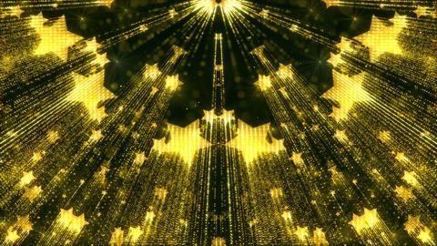 Elegant Gold Star Shimmer Animated Sparkles Background Glitter Animation