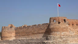 Arad Fort View Bahrain Footage