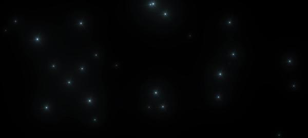 きらきら CG動画素材