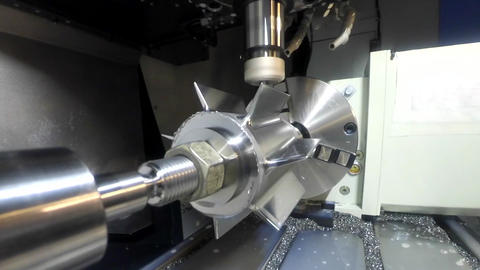 Milling machine from the inside Footage