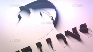 Stroke Logo 2 in 1 After Effects Template