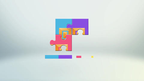 Puzzle Logo After Effects Template