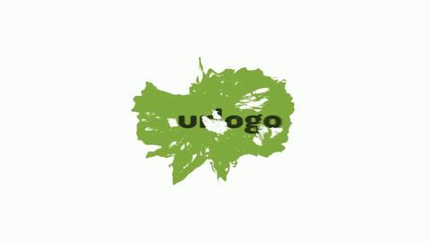 Cartoon Liquid Logo Reveal After Effects Template