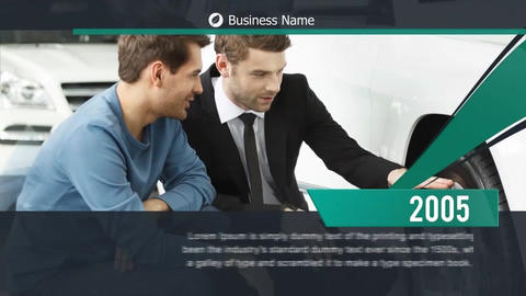 Corporate Business Timeline After Effects Template
