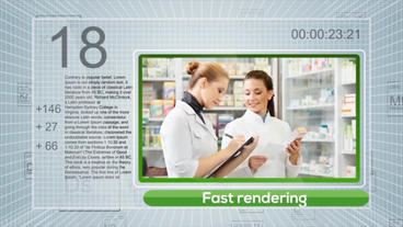 Dynamic Periodic Medical Show After Effects Template