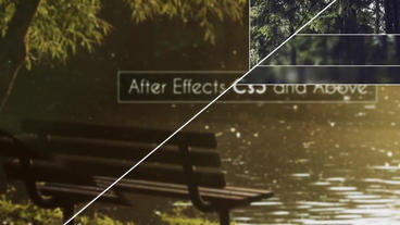 Dynamic Slicing Slideshow After Effects Template