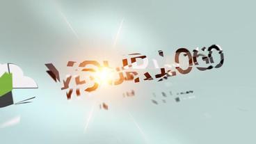 Fragment Logo Reveal Plantilla de After Effects