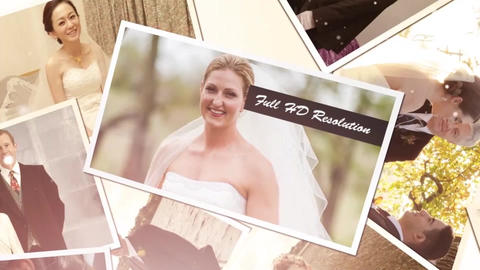 Romantic Wedding Show After Effects Template