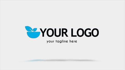 You Clean Slice Logo After Effects Template