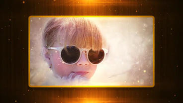 Golden Glamour stock footage