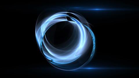 Blue Circular Motion Animation