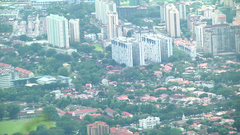 Zoom out Malaysia city Footage