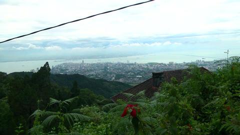 cityscape view, Top angle shot Malaysia city Footage