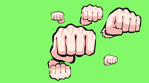 Knuckle effect Animation