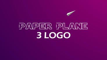 Paper_Plane_Logos Plantilla de After Effects