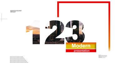 Modern_Presentation 애프터 이펙트 템플릿