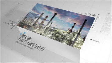 Corporate Slideshow After Effects Template
